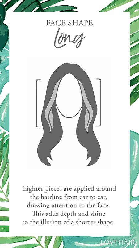 love hair long face balayage