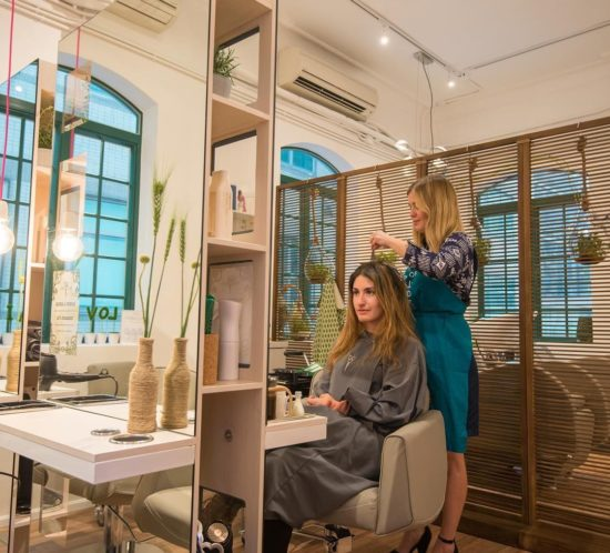 hong kong tatler article eco-friendly love hair salon